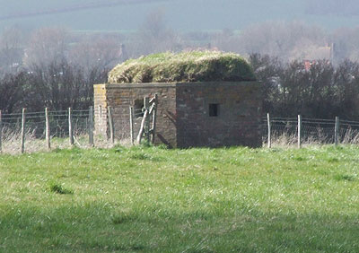 pillbox at Wilmington Aerodrome